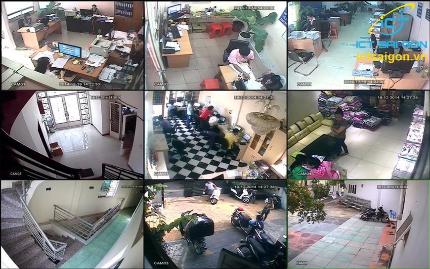 dịch vụ thi công và lắp đặt Camera của ICT Sài Gòn