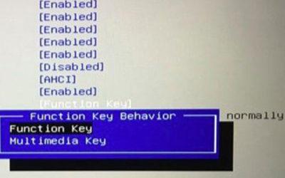 Nút fn trên laptop không sử dụng được