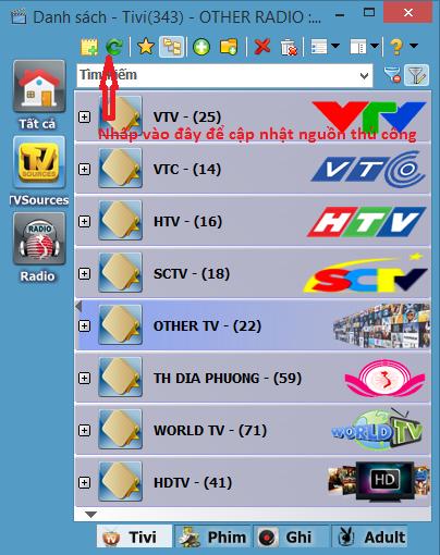 Phần mềm xem TiVi trên Laptop tốt nhất hiện nay