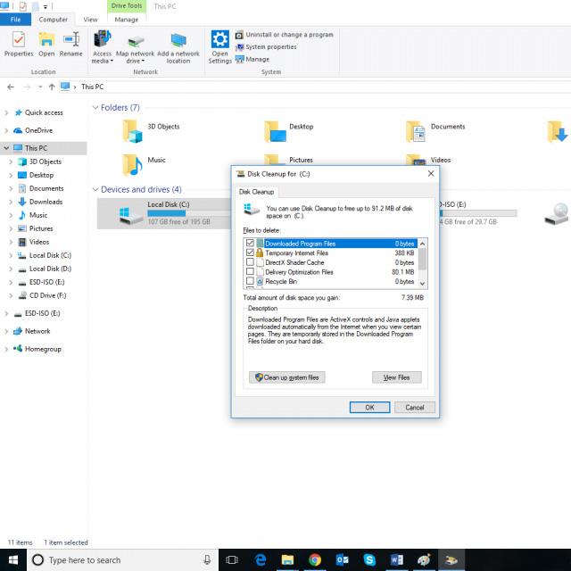 2 cách dọn dẹp file rác trên Windows 10 tối ưu nhất