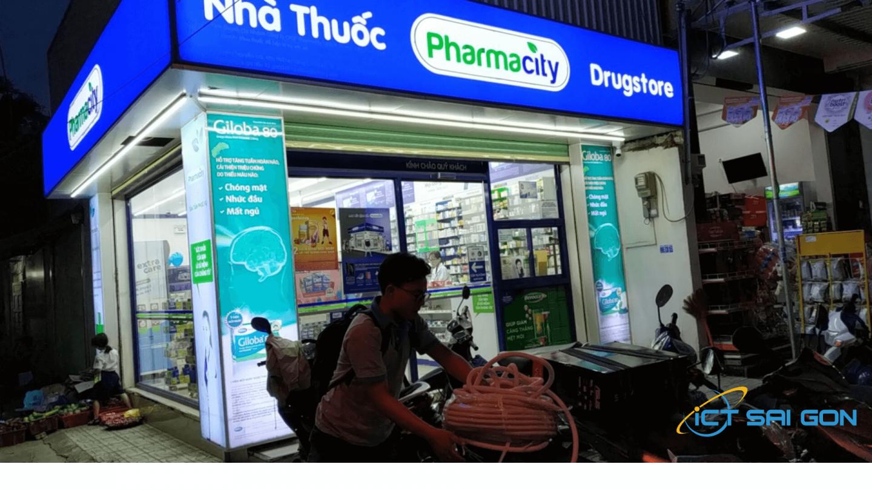 Thi công lắp đặt hệ thống camera cho chuỗi cửa hàng Pharmacity