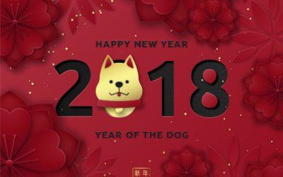 Happy New Year  Mậu Tuất 2018