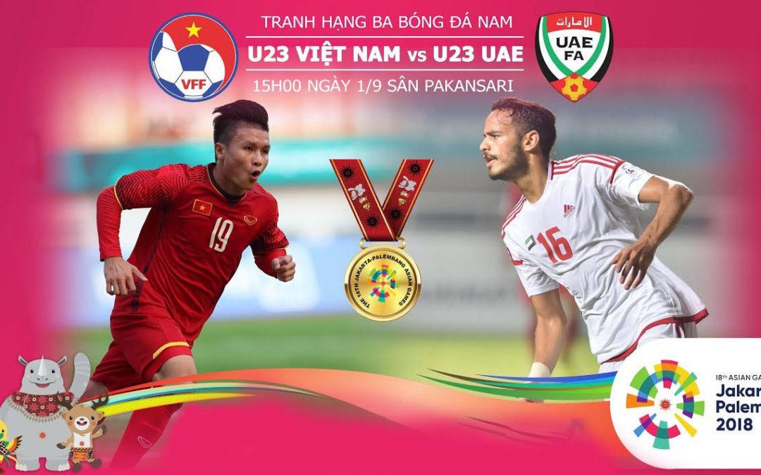 Phần mềm xem trực tiếp bóng đá U23 Việt Nam tại Asiad 18