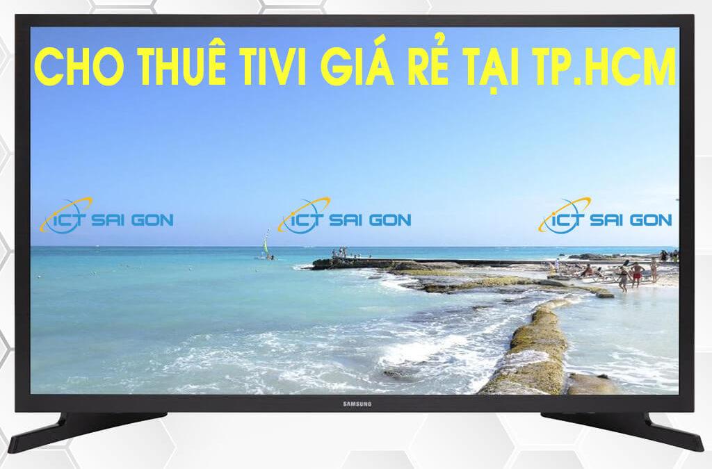 Dịch vụ cho thuê tivi màn hình LCD giá rẻ tại TP.HCM