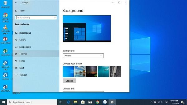 Cách đưa icon hệ thống ra desktop win 10