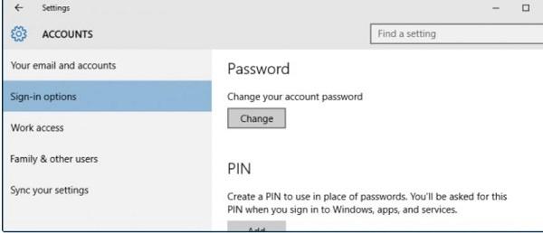 Đổi mật khẩu cho máy tính