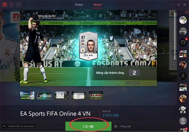 Tải Game Fifa Fo4 Qua Phần Mềm Garena Pc