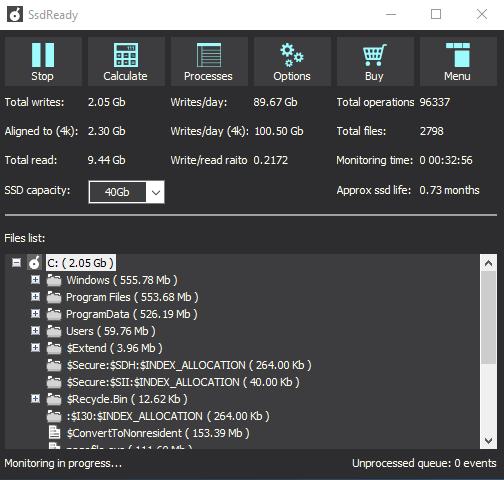 kiểm tra ổ cứng SSD