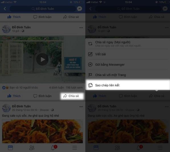 Cach Tai Video Tu Facebook Ve Dien Thoai