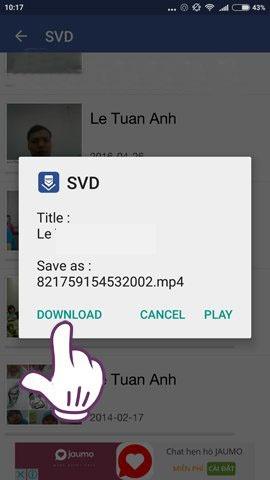 cách tải video từ facebook về điện thoại android