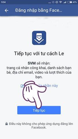 tải video trên facebook về điện thoại android