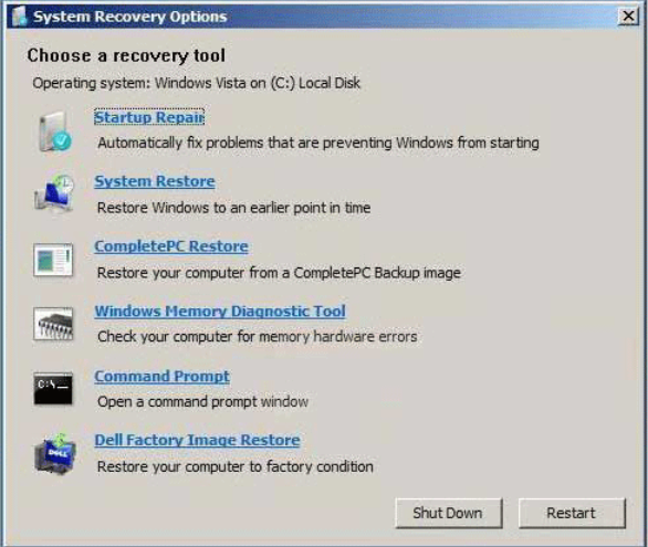 Cach Reset Lai May Tinh Win 7 với System Image Recovery