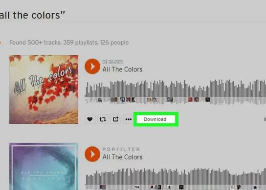 Cách Tải Nhạc Trên Soundcloud Về Máy Tính Laptop 2020
