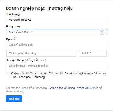 Cach Tao Fanpage Tren Facebook Bang May Tinh