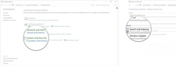 Cách khắc phục sự cố tìm kiếm Windows 10 bằng trình Troubleshooter