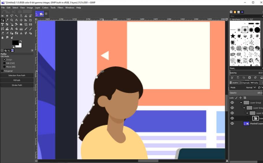 GIMP-soạn thảo đồ họa raster mạnh mẽ