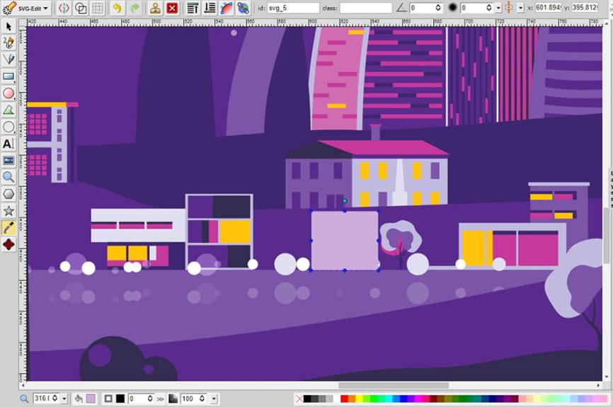 Phần mềm thiết kế đồ họa free - SVG-Edit