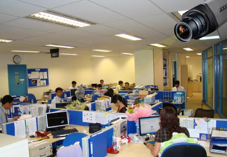 Địa Điểm Lắp Đặt Camera Giám Sát trong môi trường kinh doanh