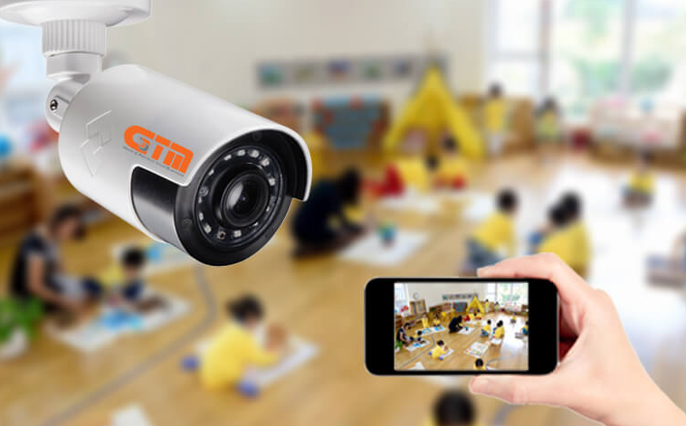 Lắp đặt camera giám sát cho trường học