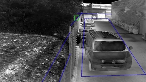 Camera có tính năng hàng rào ảo